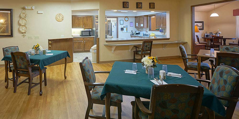 Wisconsin Rapids Memory Care Dining Room