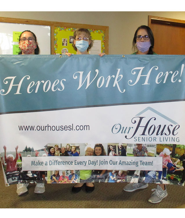Heroes Work Here at Richland Center Memory Care