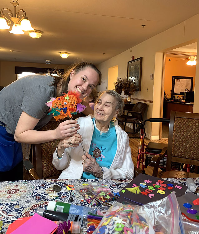 Team Member and Resident at Wausau Assisted Care